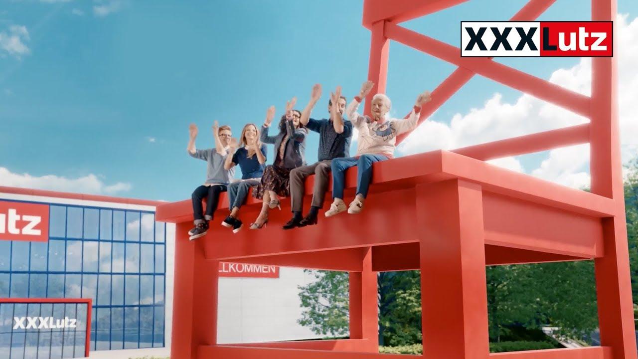xxxlutz tv spot 2018 roter stuhl youtube