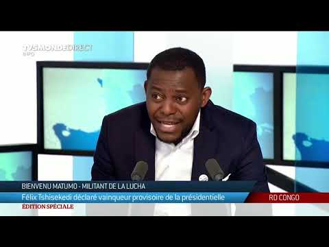 """Présidentielle RDC : """"le peuple a rejeté Kabila"""", réaction d'un militant de la Lucha"""