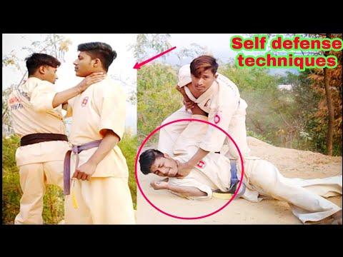 दुश्मन अचानक से पकड़ ले तो Self defense kaise kare||Shahabuddin karate