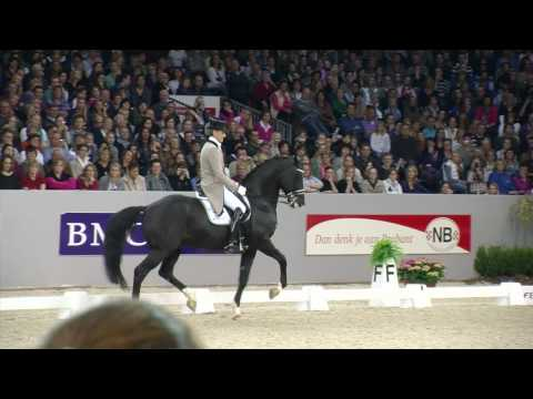 Indoor Brabant 2010 - Edward Gal & Moorlands Totilas - FEI World Cup Dressuur