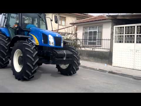 New Holland T5050 Sound And Transition