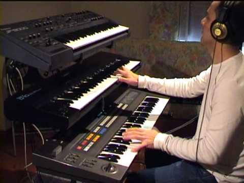 "DX5 playing Visage ""Fade to Grey"" (updated w/lyrics)"