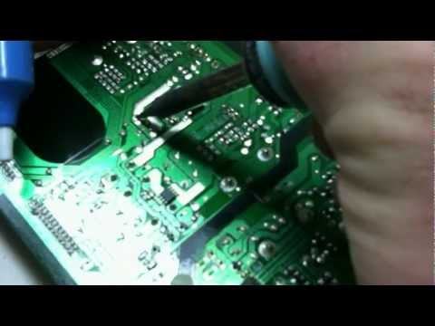 Samsung LCD TV Power Supply Repair, Capacitor Replace, LN46A