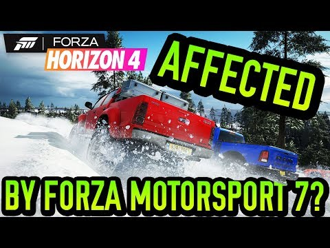 Forza Horizon 4 Is Slightly AFFECTED By Forza Motorsport 7?