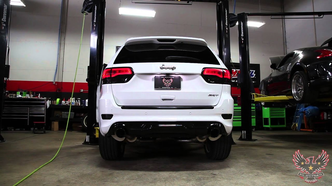 Jeep Cherokee SRT8 | Corsa Performance Exhaust | Real Auto Dynamics