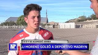 Deportes: JJMoreno goleó a deportivo Madryn