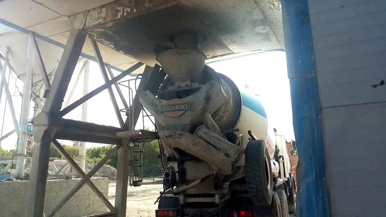 Загрузка бетона плотность готовой бетонной смеси