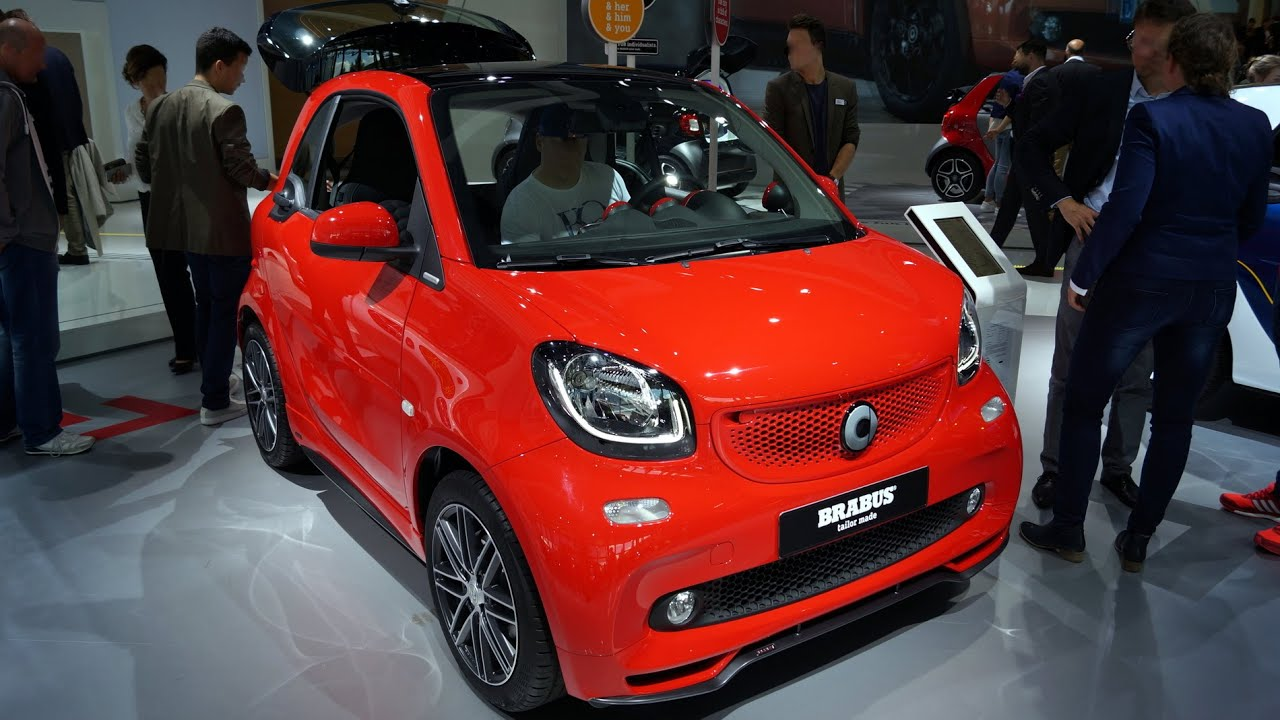 smart fortwo brabus tailor made 2015 walkaround at the. Black Bedroom Furniture Sets. Home Design Ideas