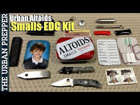 Mini Urban Altoids EDC Tin (v1.0) by TheUrbanPrepper