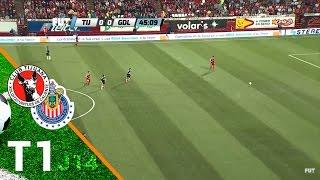 T1 Tijuana 1-1 Chivas - J14  Tormeno Clausura 2015