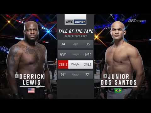 UFC Fight Night 146: Lewis vs. Dos Santos - Highlights
