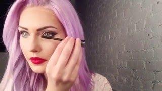Classic pin up makeup tutorial