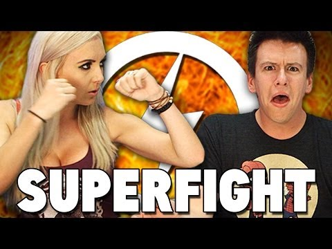 Jessica Nigri Superfight!!
