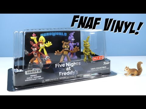 Five Nights at Freddy's HeroWorld Series 2 Funko Vinyl Collectibles