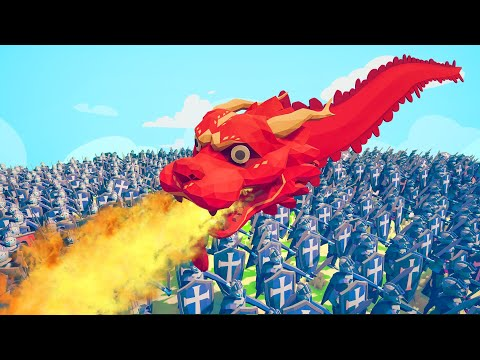 Can A DRAGON Kill 5,000 Peasants?! (Totally Accurate Battle Simulator)