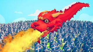 Can A DRAGON Kill 5,000 Peasants?! (Totally Accurate Battle Simulator)