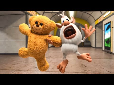 Booba And Teddy Bear - Funny Cartoons About Booba's Adventures - Super ToonsTV