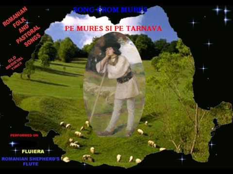 Romanian Folk Song-MURESEAN TUNE-'' Pe Mures si pe Tarnava''-Song from Mures county-Melodie populara