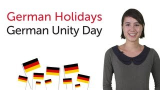 Learn German Holidays - German Unity Day