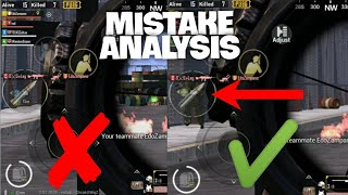 MISTAKE ANALYSIS | Understanding what we do wrong and Learning from OUR Mistakes | mistakes guide |