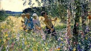 видео Картина Пластова «Жатва». 1945 г.
