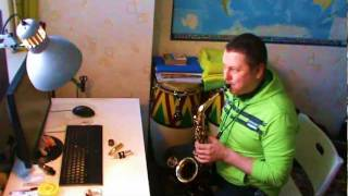 Anton Borkov - In The Mood (Test of Alto Sax Otto Link Tone Edge 6 HR)