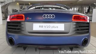 2013 Audi R8 V10 plus - Start Up, Rev, Exhaust Sound & Details [Full HD]