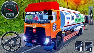 Bus Simulator Indonesia #47 - Indian Medical Oxygen Tanker Truck Driving - Android GamePlay