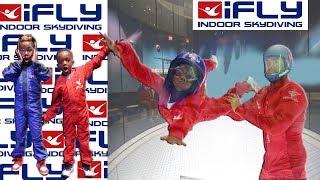 Super Siah Goes Indoor Sky Diving