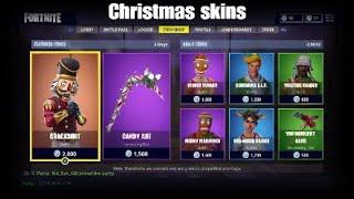 fortnite og christmas skins og redknight old theme song - fortnite original theme song