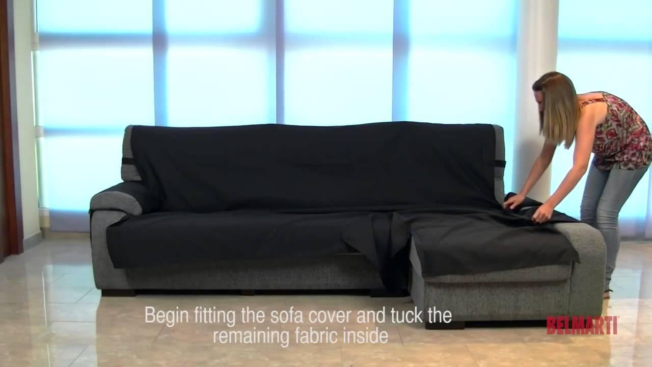 Como se pone un funda cubre chaise longue rosagabriel - Funda para chaise longue ...