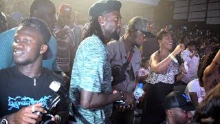 Adebayor, Tracy Sarkcess groves Dances to Sark Tunes @Rapperholic....