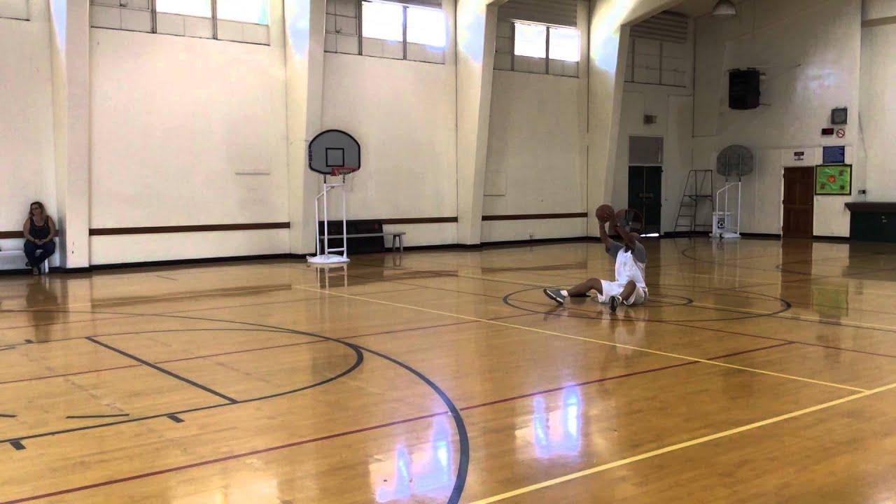 Check out Coach James' incredible shot!!! #DUpBasketball