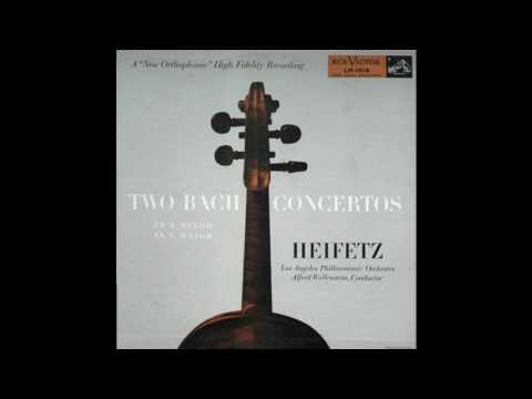 Heifetz Two Bach Concertos(LM 1818) 1953