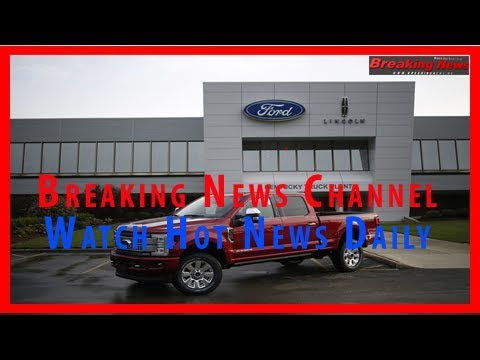 Ford to take $267 million hit from recall of f-series trucks