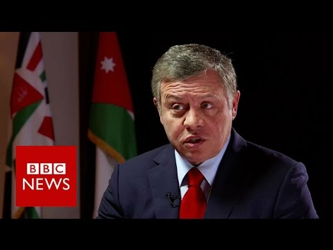 'Syria could have a political solution' says King Abdullah of Jordan - BBC News