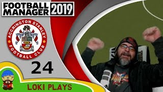 Football Manager 2019 - Episode 24 - We are going up! - The Stanley Parable - FM19
