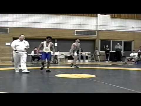 2001 Dual Meet: 68 kg Jesse Reis (UofS) vs. Jesse Kao (UofA)