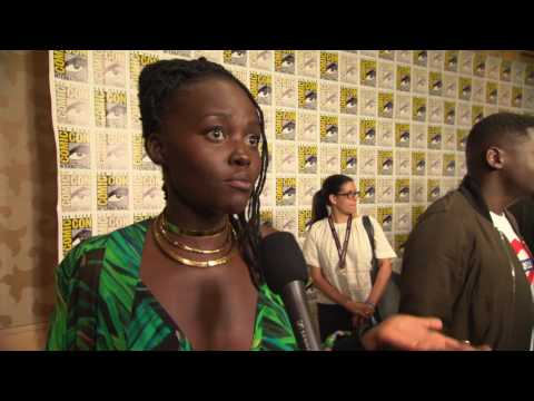 Black Panther: Lupita Nyong'o Comic-Con 2017 Movie Interview