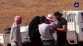 عودة بعض اللاجئين السوريين إلى مناطق جنوب سوريا - (13-9-2017)