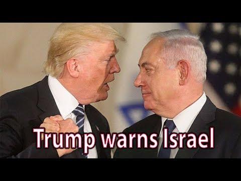 Trump warns Israel that settlements 'complicate' peace hopes || World News Radio