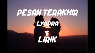 Download Pesan Terakhir @LyodraVEVO | Cover Acoustic Lirik HD