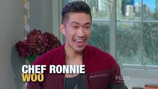 Chef Ronnie Woo makes fun holiday recipes with Rachael Ray