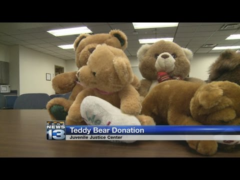 College students donate teddy bears to New Mexico foster kids