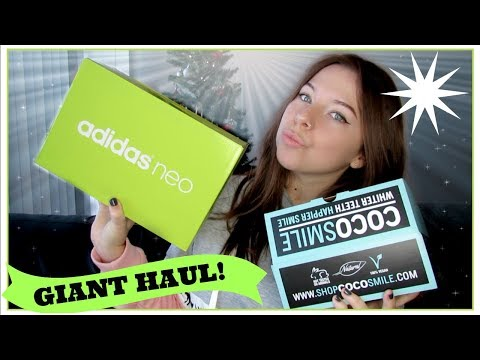 WHAT I GOT FOR CHRISTMAS 2017 | Adidas, Dogeared, ETC...