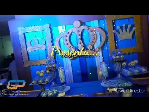 Decoración Príncipe  😍😍😍 -Gp Producciones