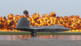 F22 with Gasoline Explosion Fort Wayne Indiana