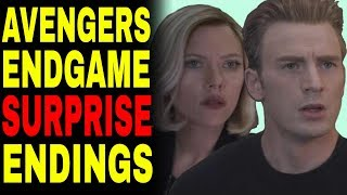 Avengers Endgame Endings That Will BLOW YOU AWAY!