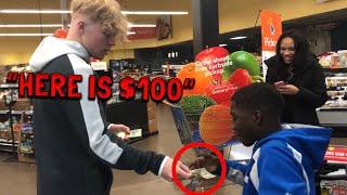Giving Money To Random People!