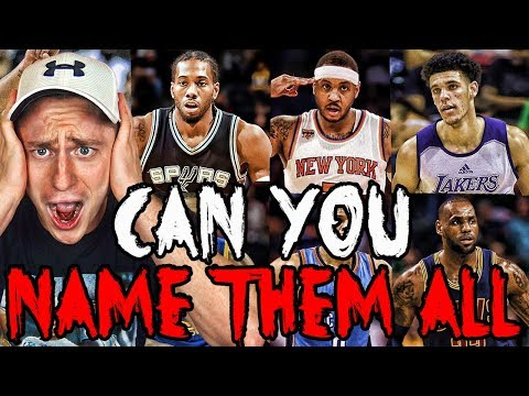 Can YOU Name The NBA's Top 100 Players For 2018?